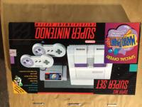 Super Nintendo consoles and games. We keep snes