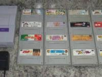 Up for sale is a Super Nintendo System that was modded