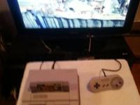 I have a Super Nintendo game system,with 2 Controllers,