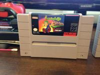 The following SNES games are for sale:  The Legend of