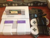 Like New Condition Super Nintendo Mini Redesign. This