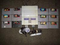 For sale is a checked and working Super Nintendo system