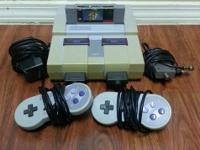 Selling my Super Nintendo SNES with Super Mario World.