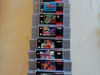 SNES Carts For sale EACH $45, Final Fight GUY $75,