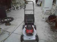 4.0 Eager 1 Craftsman mower 4.0 hp with rear bag. Super