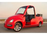 ULTIMATE LUXURY GOLF CART NEV by WESTERN - DESIGNED BY