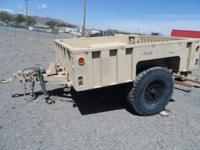 Really Cool Military Trailer for sale 6.5 ft wide 7 ft