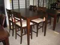 5pc Counter Height Dining Set for ONLY $299 !!!!!  Fine