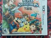 For sale is a used copy of Super Smash Bros. for the