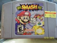 incredibly smash bros. for the 64 only 44.95.   We are