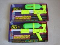 Hello! We're selling a pair of Super Soaker Water Guns