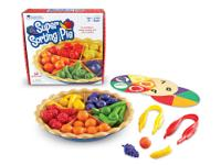 This Super Sorting Pie Activity Set teaches early