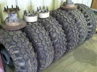 I have 6 Super Swamper Irok Radials 36x13.50x16 mounted