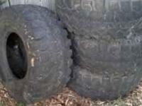 36swampers 16.5 inch rims good tread call  Location: