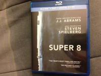 Super 8 Blu-Ray combo pack which includes the blu-ray,