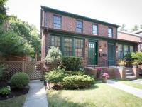 Semi-attached brick house in Forest Hills with all the