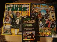 I am selling these items together: - Superbowl XXXII