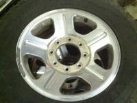 "I have 18"" alloy rims that came off of a 2006 Superduty"