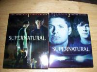 Supernatural seasons 1 & 2  $15.00 for both. cash only