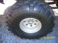 "I've got a set 38.5 x16.5x15"" superswamper tires and"