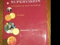 I am selling a used but in great condition Supervision