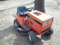 "Supreme Riding Lawn Mower made by MTD -38"" cut - 7 sp"