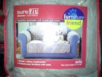 These are sure fit slipcovers that were purchased at