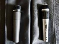 I have a Sure SM57 microphone and a Sure 545SD