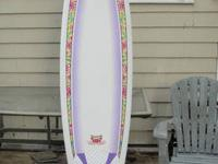 "Gently used, almost like new SurfBetty 6'8"" NSP"