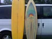 HI, I HAVE A 7FT,2 IN, SURFBOARD,BY MIKE SLINGERLAND