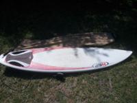 "NSP epoxy 6'6"", like new, comes with leash, traction"