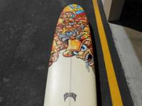 Absolutely amazing long board from Lost Mayhem (9ft.).