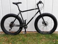 "Surly Pugsley Fat Bike, 21"" XL frame. Like new"