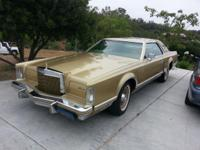 This is a totally initial 1978 Lincoln Continental Mark