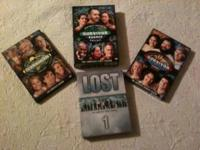 I have for sale: The complete 1st season of lost. The