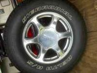 I have a set of 265/70 R17 SUV tires that I had just