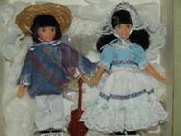 "Collectable 9"" Suzanne Gibson dolls. $25 for single and"