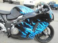 SUZUKI HAYABUSA THAT HAS OVER 30K INVESTED IN THE BIKE.