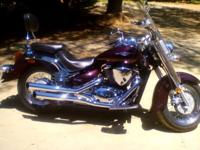 Very clean bike lots of crome never dropped lots of