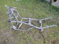 USED FRAME. IN GOOD CONDITION, STRAIGHT, NO CRACKS, NO