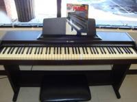 SUZUKI Digital Piano, Model HP-80 FULL 88 key keyboard