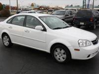 A carry-over from 2006, the Forenza is a four-door