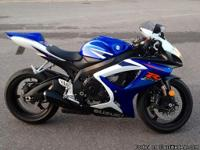 Im selling my 2007 GSXR 750. This bike is in mint