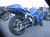 This bike was purchased new from North Hollywood Suzuki