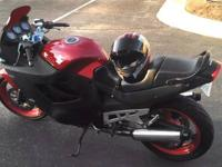 I am selling a Suzuki Katana 600 (GSX600 F). It is in