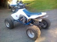 1986 sport/ race atv Not mint, she's been ridin. The