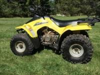 "Suzuki LT160 ATV Meticulously maintained A great ""in"