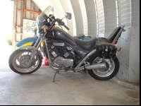 1985 Suzuki Madura V-4 . New tank , seat , tires and