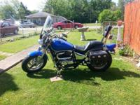 2004 800cc Suzuki Marauder for sale. Garage kept and