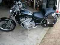 I have a 86 Suzuki intruder, drives great, black in
